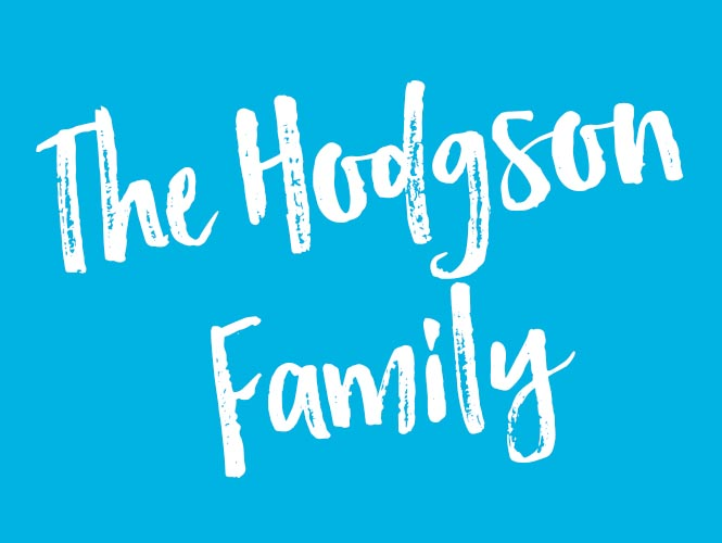 The Hodgeson Family